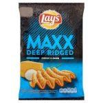 Lay's max sajtos hagymás 65g