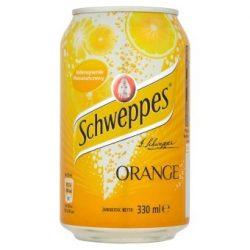 Schweppes Orange 0,33 l