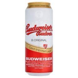 Budweiser Budvar Premium Lager 0,5l DOB